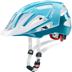 UVEX Quatro Cykelhjelm hvid/turkis